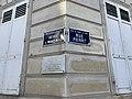 Plaques avenue Madrid rue Pierret Neuilly Seine 1.jpg