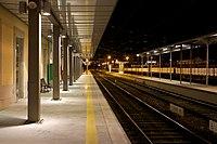 Plataformas de Passageiros na Estação de Vila Nova de Gaia, 2009.12.18.jpg