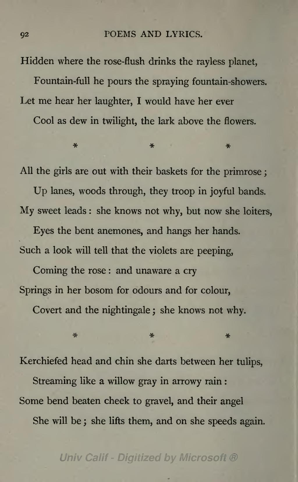 poems about joy
