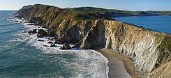 Point Reyes National Seashore headlands from Chimney Rock.jpg