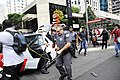 Police officer trying to hit a protester, São Paulo, 2015 (Sequence 2).jpg