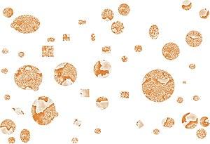 Dispersity - A non-uniform (polydisperse) collection