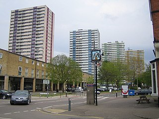 Ponders End commercial and residential district of the London Borough of Enfield, London, England