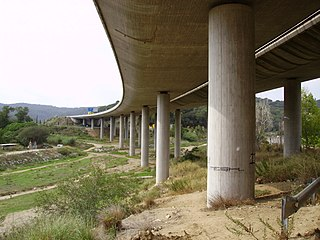 highway in Catalonia, Spain