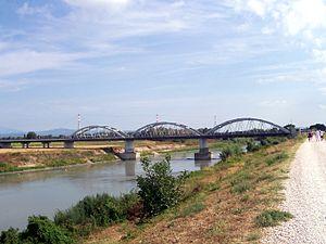Albaredo d'Adige - The bridge on the Adige