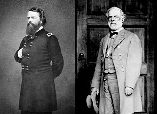 Northern Virginia campaign series of battles fought in Virginia during the American Civil War