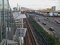 Poplar DLR stn Beckton Woolwich westbound platform high eastbound.JPG