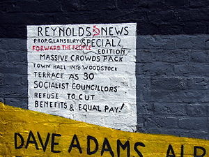 Poplar Rates Rebellion - Image: Poplar rates rebellion mural, detail geograph.org.uk 866114