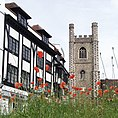 Poppies and St Laurence's Church, Reading.jpg