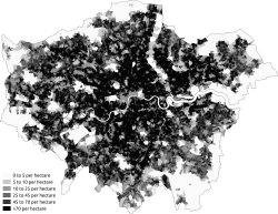 Population Density London 2011 Census.png