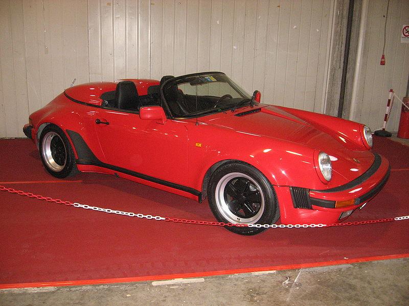 File Porsche 911 Speedster Red Jpg Wikimedia Commons