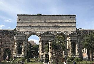 Aqua Anio Novus Roman aqueduct