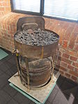 Portable forge used for riveting ships, Merseyside Maritime Museum (1).JPG