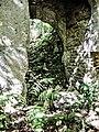 Portail , double, d'accès aux salles intérieures du vieux château. Vue intérieure. (2).jpg