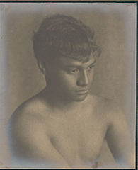 Portrait of Hawaiian boy titled 'The Son of Hawaii' 1909.jpg