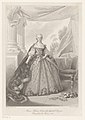Portret van Maria Theresia van Bourbon Marie Thérèse Antoinette Infante d'Espagne (titel op object), RP-P-1993-339.jpg