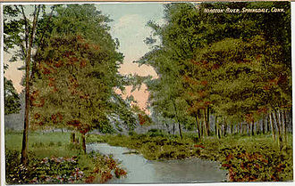 Springdale (Stamford) - Noroton River, about 1911