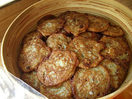 Draniki, the national dish Potato pancakes.jpg
