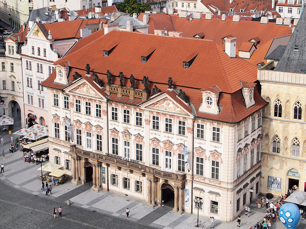 Le Palais Kinsky et le musée d'art asiatique de Prague. Photo de Tiia Monto.