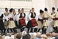 Praha, Staré Město, Ovocný trh, Pražský jarmark, srbské lidové tance VII.JPG