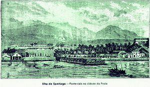 Praia - Praia in 1936