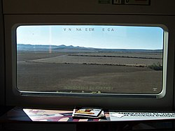 Prairies of central Spain, from the buffet car - Flickr - TeaMeister.jpg