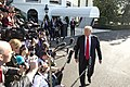 President Trump Departs the South Lawn (47965981038).jpg