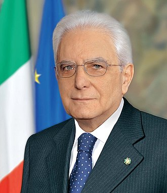 Politics of Italy - Sergio Mattarella, President of Italy since 3 February 2015.