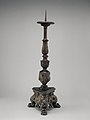 Pricket candlestick (one of a pair) MET DP-1232-001.jpg