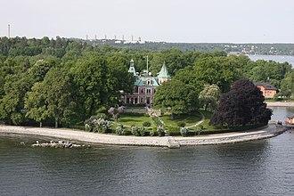 Marcus Wallenberg Jr. - Villa Täcka Udden, residence of Wallenberg from 1978 until his death in 1982.