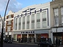 Il negozio di Kilburn a Londra