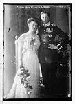 Prince Aug. Wilhelm & bride, Photo- T.H. Voigt, Frankfurt - T.H. Voigt LCCN2014680929.jpg