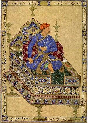 Jahangir - Prince Salim, the future Jahangir