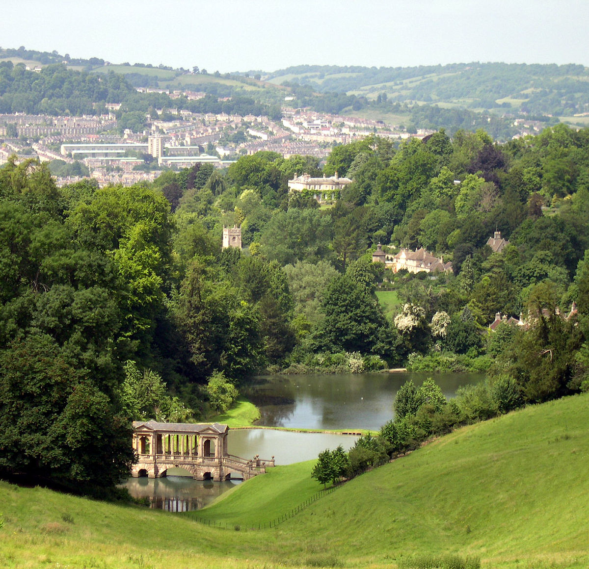 Prior park landscape garden wikipedia for Casa rural el jardi
