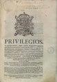 Privilegios, y excepciones, que goza perpetuamente la Orden de San Francisco, de la crontribucion, y paga de los Reales derechos, de Alcavalas, Cientos (IA A10916611).pdf