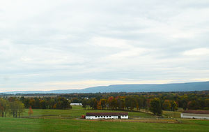 Wallkill Correctional Facility - landscape near the Walstein Childs House on prison grounds