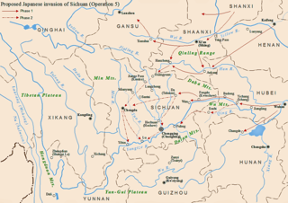 Proposed Japanese invasion of Sichuan