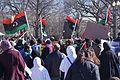 Protesting Libya outside the White House, Washington, D.C..jpg