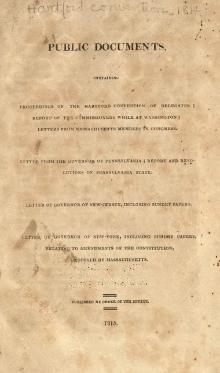 Index:Public Documents, Hartford Convention.djvu - Wikisource, the ...