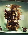 Puebla - Museo Amparo - Statuette des états théocratiques, période classique, Zapoteca.JPG