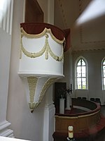 Pulpit of Lutheran church in Tirza.jpg