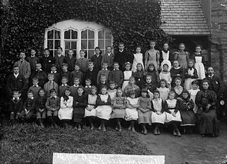 Pupils, Llangernyw school