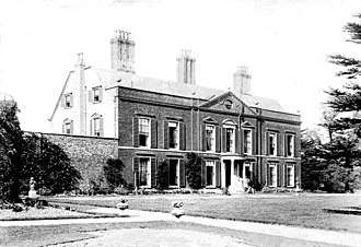 Henry Tyler (Conservative politician) - Pymmes House, Tyler's home in the late 19th century.