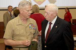 Alfred M. Gray Jr. - Alfred M. Gray (right) and James F. Amos (left) in June 2012.