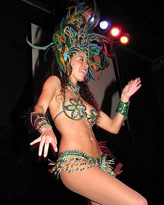 Carnival Queen - A Carnival Queen from California, United States, 2008.