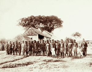 Queensland State Archives 5171 Prisoners at Daru 1898.png