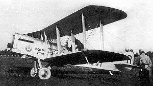 Airco DH.9A - Polikarpov R-1