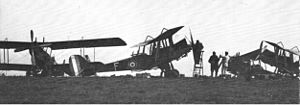 History of the Royal Australian Air Force - An Australian Flying Corps aircraft c. 1918