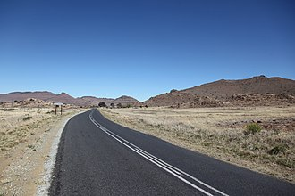 Regional routes (South Africa) - Image: R390 road 001