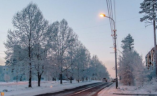 Нерюнгри зимой